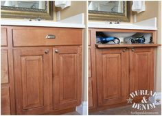 Blow Dryer and Curling Iron Storage