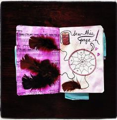 Wreck This Journal - Idéia para feed - @Laura Paro - Instagram