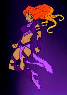 So I've been away for a while because life has been hectic but hopefully I will be more active So i did this redesign of Starfire awhile ago but . Starfire Dc, Teen Titans Starfire, Starfire And Raven, New Titan, Comic Book Girl, New Avengers, Dc Comics Art, Dc Characters, Super Hero Costumes