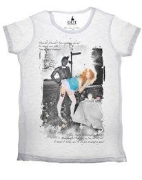 T-shirt Alice In Wonderland Out