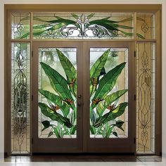 Витражи. Stained Glass Window Panel, Stained Glass Door, Beautiful Doors, Window Painting, Leadlight Windows, Glass Artwork, Glass Design, Mosaic Glass, Stained Glass Panels