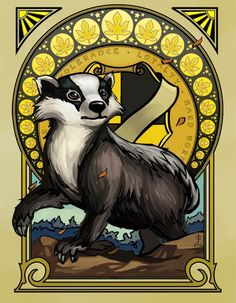 Ok I'm tired of people making fun of my house(Hufflepuff) our mascot is a badger. Scared of Snakes? No we eat them for breakfast. Lion? No have you met the honey badger? Birds? I don't think so.
