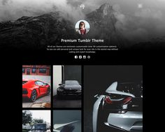City Tumblr Theme #tumblr #theme #themeforest #portfolio #gallery
