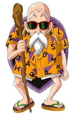 Maestro Roshi Serie: Dragon Ball Z Cadena Original: FUNimation (EEUU)/ Selecta Vision (España) (1989-1996)