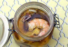 Sous Vide Pickled Shrimp