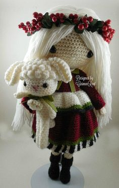 ATTENTION - Keep in mind that this is a crochet pattern in a PDF. This is NOT the finished product. December, October and November are approximately 17 inches tall. Also, please keep in mind that these dolls cannot stand up on its own. This is a non-refundable purchase. Once the