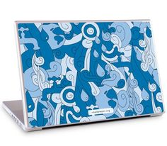 """Water Doodle by charity: water for the 15.4"""" PC Laptops $29.95"""