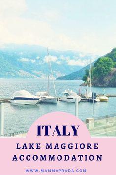Where to stay on Lake Maggiore: Golfo Gabella All About Italy, Virtual Travel, Italian Lakes, Italian Beauty, Next Holiday, Lake Como, Summer Travel, Beautiful Beaches, Italy Travel