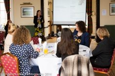 """Delegates enjoying Dawn's presentation at the recent """"Women in Business"""" networking lunch."""