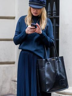 The Latest Street Style Photos from London Fashion Week via @WhoWhatWearAU
