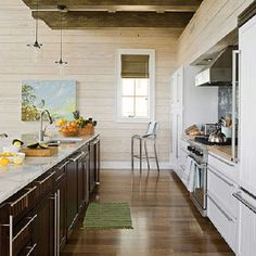 Best Kitchen Guide Basics Designs Layouts - One Wall Galley ...