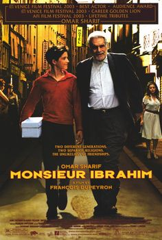 Monsieur Ibrahim starring Omar Sharif