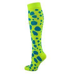 3da767f64 TCK Krazisox Leopard Cat Spots Print Elite Volleyball Long Knee-High Socks  NEW