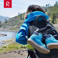 Let's explore the great outdoors! A softshell jacket is a perfect choice for a hiking adventure. It blocks the wind, is stretchy and water repellent. #kidswear #outdoors #softshell #layerdressing