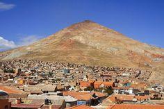 Cerro Rico Potosi (Potosi - Bolivia).