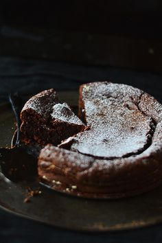 Molly Wizenberg's Almost Flourless Chocolate Cake
