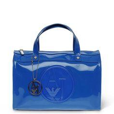 Armani Jeans – Bowling Bag / Handtasche Blau, 05229-RJ-98   Designer Handtaschen