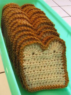 Really should make these for Ella! toast loaf coasters--these make me laugh!