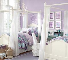 girl bedroom, purple (imagine in pink)