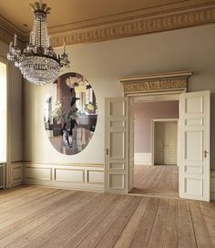 Study decorated for Princess Mary of Denmark