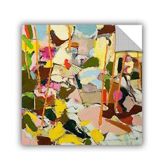 ArtWall ArtAppealz Allan Friedlander 'Piney Woods' Removable Wall Art