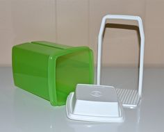 Green Tupperware Pickle Keeper Storage Container with by WVpickin