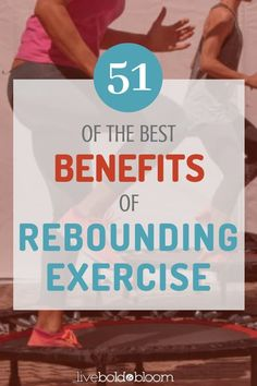 If you want to find a fitness routine that is fun and healthy, learn the 51 medical benefits of rebounding using a mini trampoline. Mini Trampoline Workout, Rebounder Trampoline, Fitness Trampoline, Trampolines, Health And Wellness, Health Fitness, Fitness Tips, Health Site, Cold Home Remedies