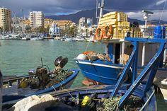 Yachthafen und berühmter #Badeort #Estepona Costa del Sol, #Andalusien in #Spanien  Port and seaside resort Estepona #Costa del Sol, Andalusia in #Spain  © Philippe Roy-Hoa Qui