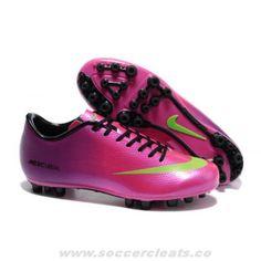 Nike Mercurial Vapor IX AG Purple Pink Soccer Cleats Pink Nikes cea3d975e214c