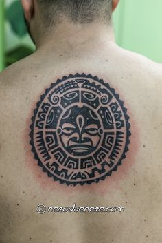 #maori #sun #tattoo #tatuaggio #sole