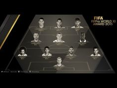 What a Goal from the 2015 FIFA FIFPro World XI 11/01/2016