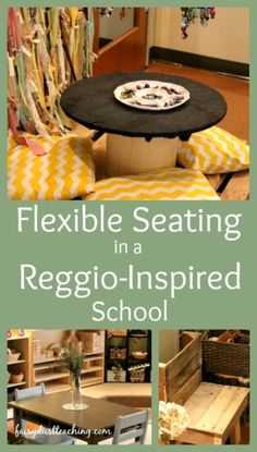 Flexible Seating in a Reggio-Inspired School | Fairy Dust Teaching | Bloglovin'