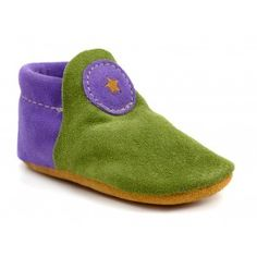 Choose from our large selection of natural suede leather colors to customize your child's shoes. Our soft moccasins feature genuine sheepskin soles for a warm and cozy fit. Soft leather allows feet to flex and stretch as if they were barefoot. Custom Leather, Suede Leather, Soft Leather, Purple Baby, Green And Purple, Minimalist Baby, Baby Moccasins, Baby Booties, Comfortable Shoes