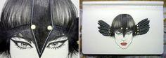 Traços inspiradores da brasileira e #ilustradora Fernanda Guedes. #illustration #ilustracao