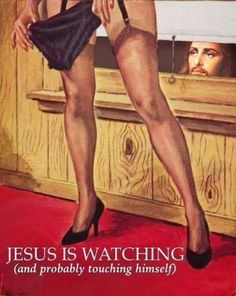 Provocative Pulp Fiction at it's finest! Religious Humor, Atheist Humor, Pulp Fiction, Fiction Books, Humor Satirico, Dry Humor, Pulp Magazine, I Laughed, Laughter