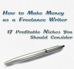 What follows is a list of some of the many freelance writing niches available. Perhaps there is something here you had not considered before that will inspire you to branch out – or at least see that there is more opportunities for writers than meets the eye.