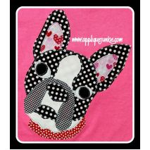 Boston Terrier from Applique Junkie