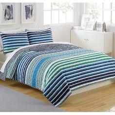 IZOD Parker Striped Comforter Set & Reviews | Wayfair