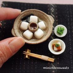 Makes me Hungry, looks so delicious food but LOL. Is miniature Food. But is so cute & tiny.  I love it. ❤