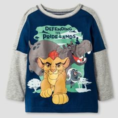 The Lion Guard Toddler Boys' Defending the Pride Land Long Sleeve T-Shirt