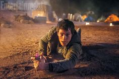 Out of the maze and into the fire.  In The Scorch Trials, the sequel to last year's YA hit The Maze Runner, the action picks up immediately where the previous movie leftoff—with Thomas (Dylan O'Brien) and the survivors of that giant mechanical labyrinth discovering that the world outside their walls is far from a welcoming one.