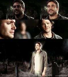 John Winchester who climbed out of Hell a Righteous Man