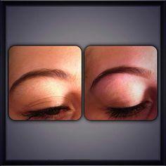 Eyebrow threading treatment by Nita