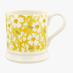 Details about  /Waves Yellow Black Mug Gift Abstract Lines All Occasion Birthday