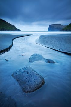 Risin og Kellingin sea stacks from the shores of Tjornuvik in the Faroe Islands. Destinations, Stone Gallery, Faroe Islands, Beautiful Places To Visit, Photos, Pictures, Photographs, Aerial View, The Great Outdoors