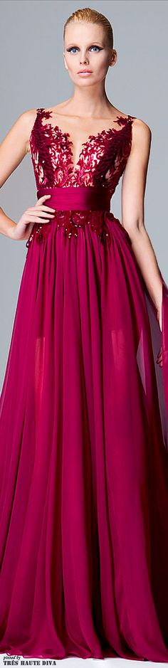 Zuhair Murad Pre-Fall 2014 what a color