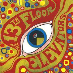 1966, 13th Floor Elevators record album cover art, via Flickr