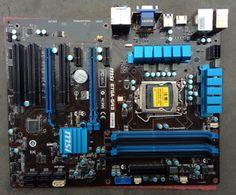 MSI B75A-G43 Intel B75 Motherboard LGA1155 Socket 1155 CPU DDR3 PCIE3.0 ATX
