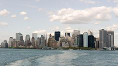 We all know of the tragic events of September 11th 2001, so no need to mention them here. Of course the lower Manhattan skyline was drastically altered thereafter for the most awful reasons imaginable. We will skip a few years to this photo of the lower Manhattan skyline taken from the Staten Island Ferry in 2004.