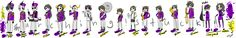 Homestuck marching band (CREDIT TO ARTIST NOT MY ART)